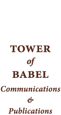 Tower of Babel Communications & Publications